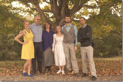 with luke's family
