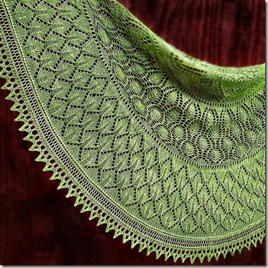 spring green shawl 0612000 square.3