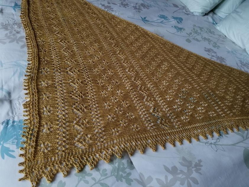 Katania lace shawl