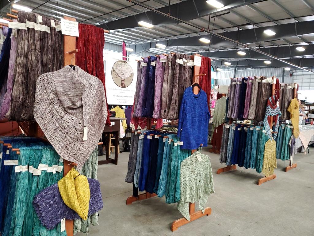 lace knitting shawl